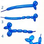 Как сделать собачку из шарика?