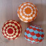 3 разных шарика