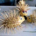 Картошка и забочистки для ёжика