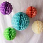 Разноцветные шары из бумаги