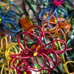 Букеты цветов из проволоки