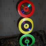 Делаем с детьми светофор из дисков