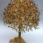 Дерево из спичек
