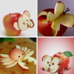 Идеи поделок из яблок
