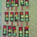 Изготовление детьми светофора