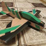 Картонный самолёт своими руками для детей