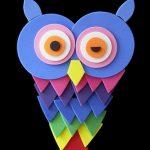 Оригами - совёнок