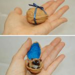 Поделка из грецкого ореха