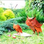 Садовые фигурки - совы