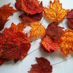 Осенние листья для поделок