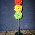 Светофор из модульного оригами