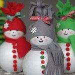 Милые снеговики