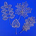 Листья из фольги