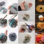 Примеры создания помпонов