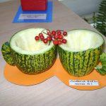Чашки из овощей