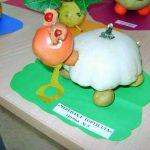 Черепаха из овощей