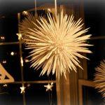 Новогодний шарик из зубочисток