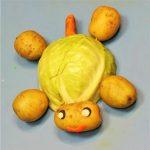 Осенняя поделка - черепаха