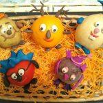 Поделка в детский сад -смешарики