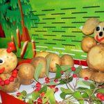 Поделки из картошки - герои мультфильмов