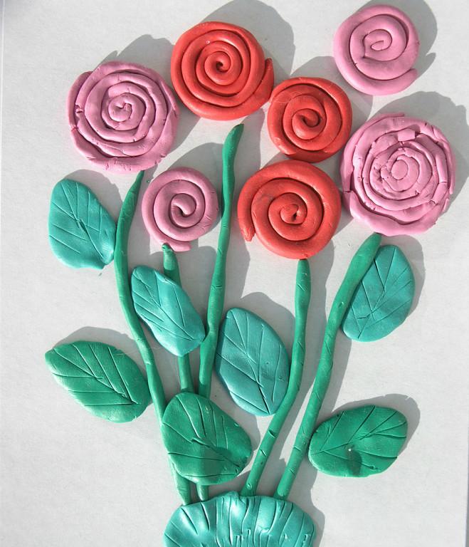 Объёмные цветы