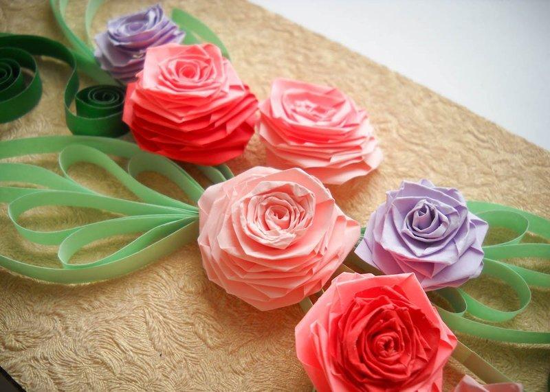 Поделки цветы