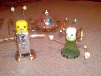 10. Инопланетян из подручных материалов