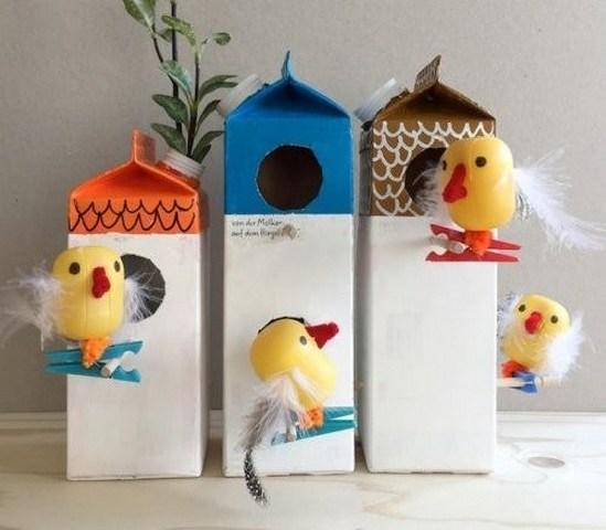 Фото 7. Птичье семейство