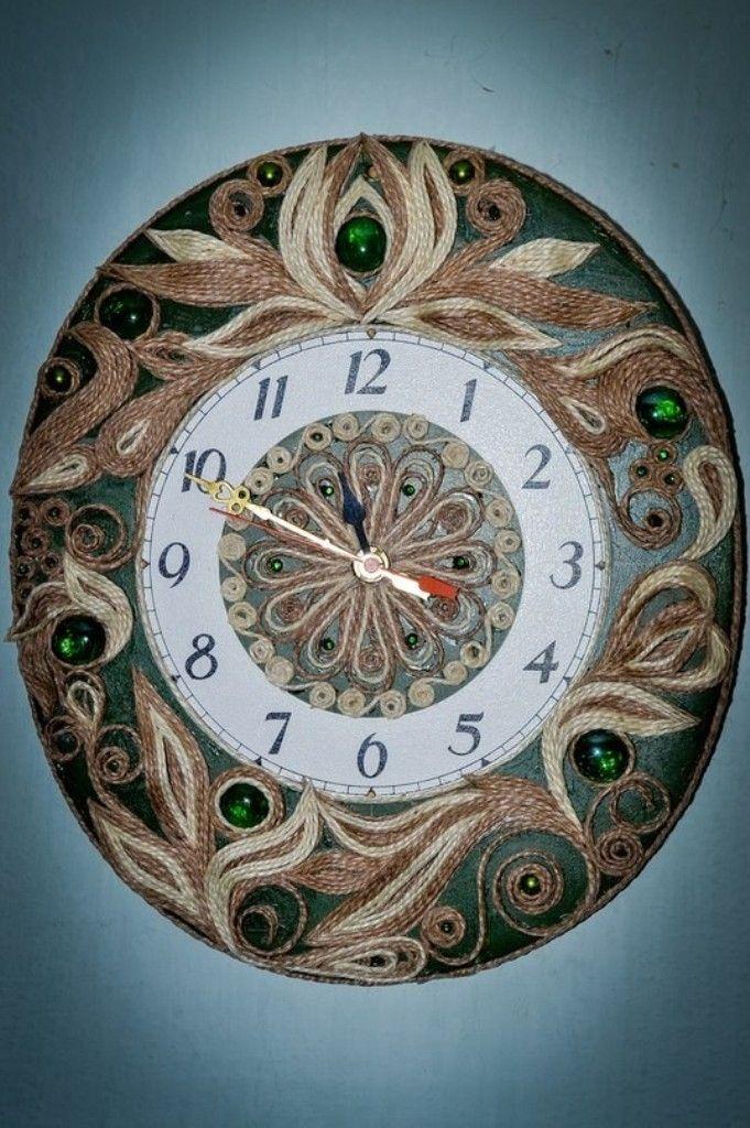 Часы декор