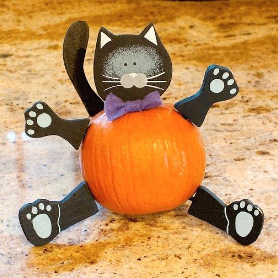 Кот из тыквы