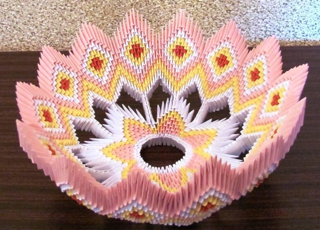 Оригами из модулей для начинающих картинки
