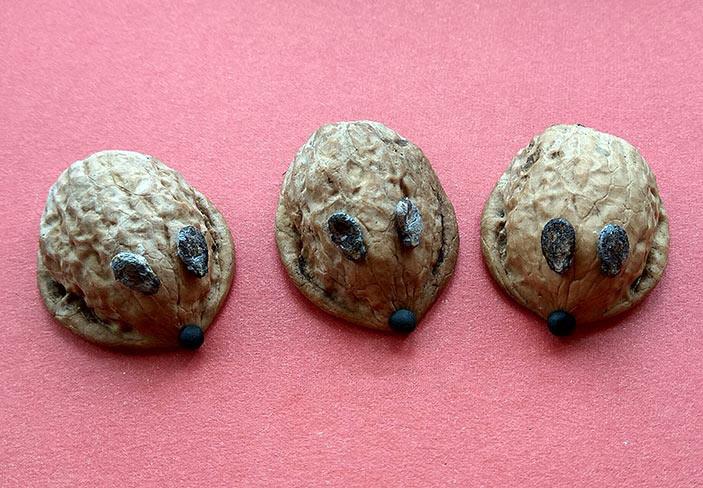 поделка мышка пошагово