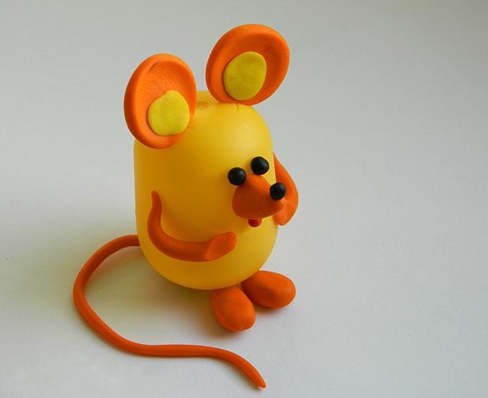 как сделать поделку год мышки