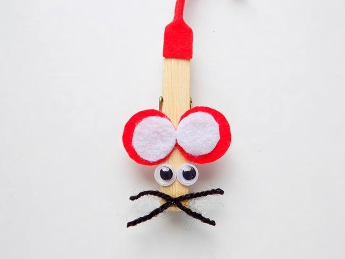 из чего можно сделать поделку мышку