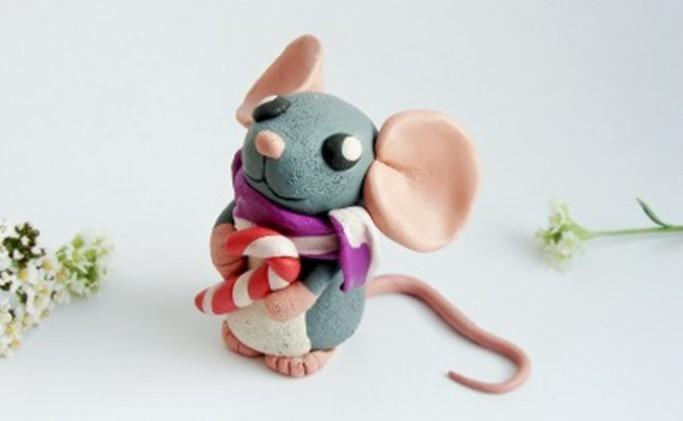 поделка большая мышка