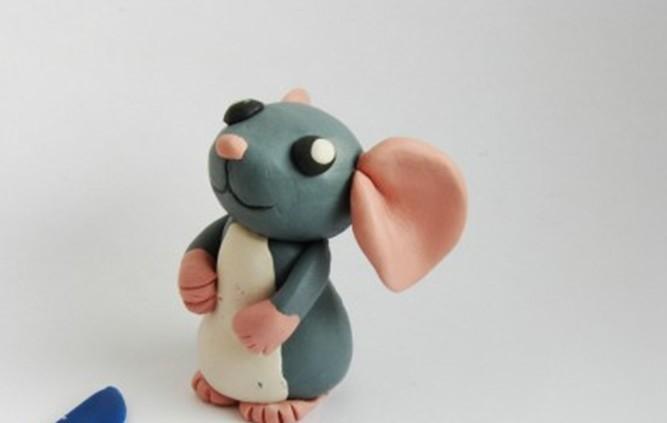 как слепить мышку из пластилина поэтапно фото