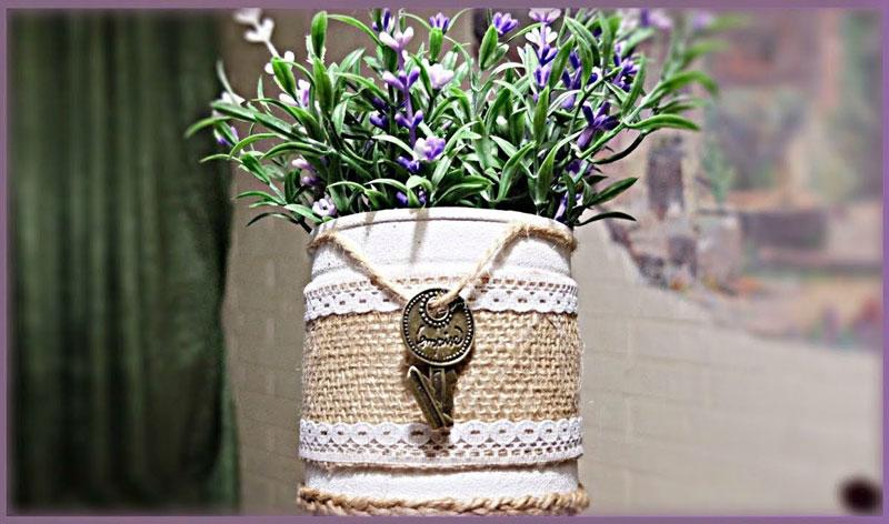поделка ваза
