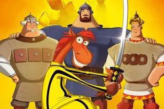 Песни из мультфильмов про Трех богатырей