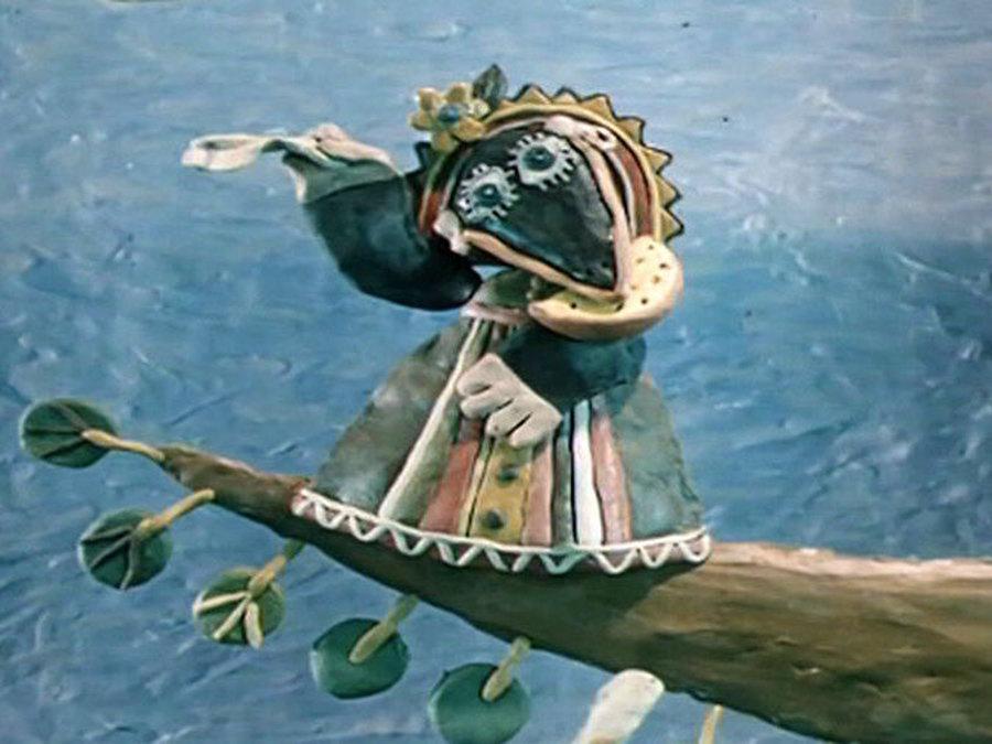Пластилиновая ворона