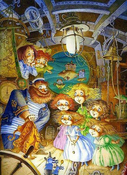 петербургская сказка бобринский
