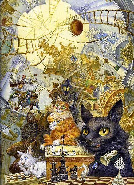 петербургская сказка рисунки