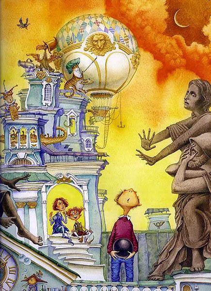 сказка бобринского эрмиты мальчик пятиклассник