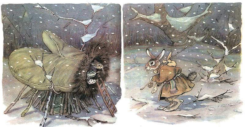 русская сказка рукавичка
