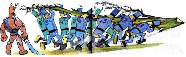 урфин джюс и его деревянные солдаты иллюстрации