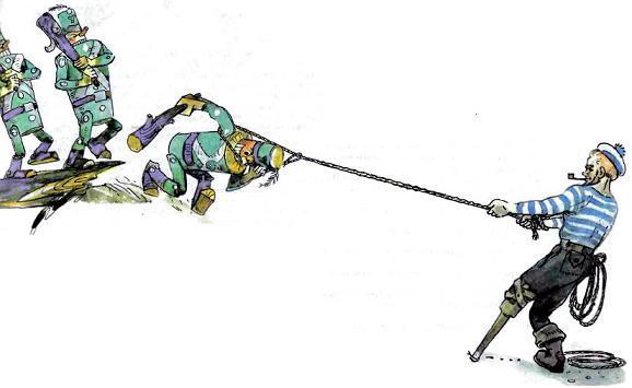 урфин джюс иллюстрации