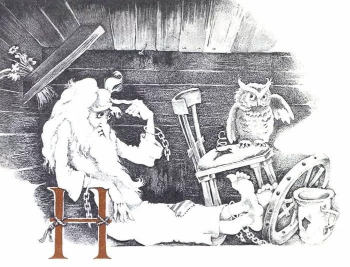 Кентервильское привидение иллюстрации