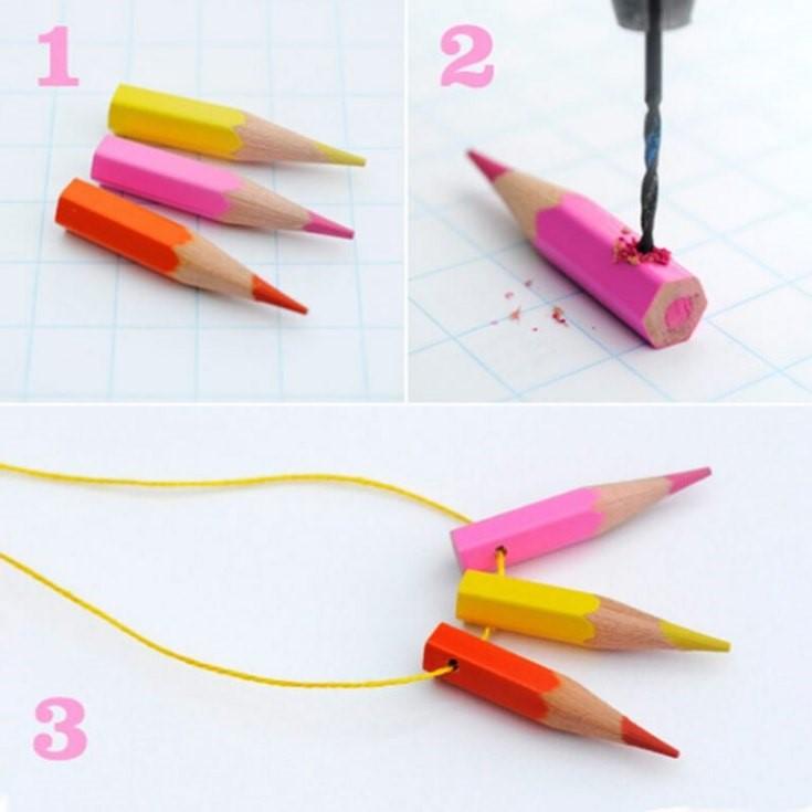 как сделать поделку карандаш