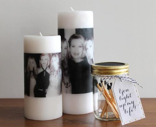 фото на свечи