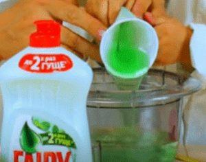 как сделать раствор для мыльных пузырей