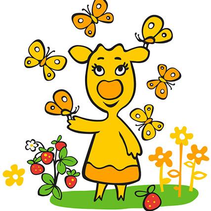 Песни из мультфильма Оранжевая корова